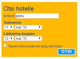 Pärnu hotellid
