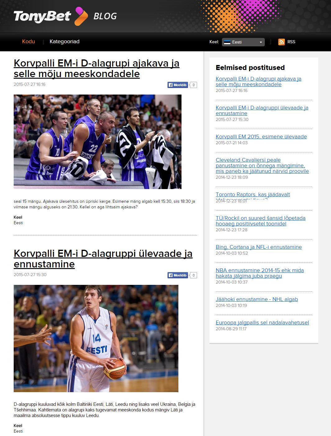 Spordiblogi